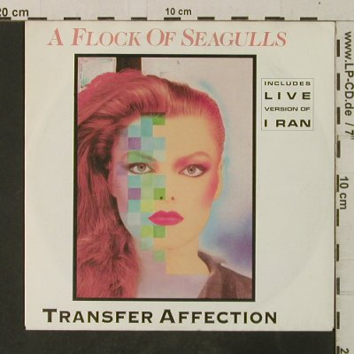 A Flock of Seagulls: Transfer Affection / I Ran (Live), Jive(6.13876 AC), D, 1983 - 7inch - T3710 - 2,50 Euro