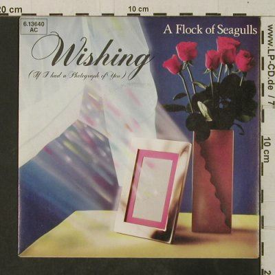 A Flock of Seagulls: Wishing / Committed, Jive(6.13640 AC), D, 1982 - 7inch - T3716 - 2,50 Euro