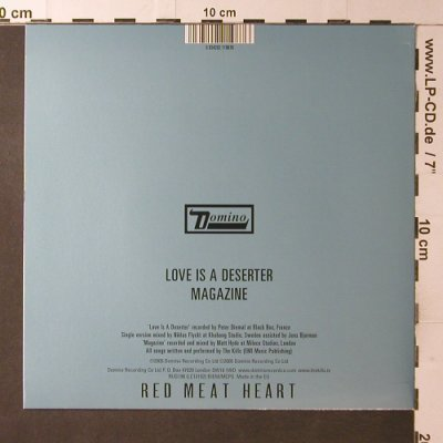 Kills: Love is a deserter/Magazine, Domino(RUG198), EU, 2005 - 7inch - T3755 - 5,00 Euro