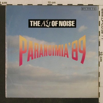 Art of Noise: Paranoimia'89, vg+/vg+, China(871 772 7), D, 1989 - 7inch - T3784 - 2,00 Euro