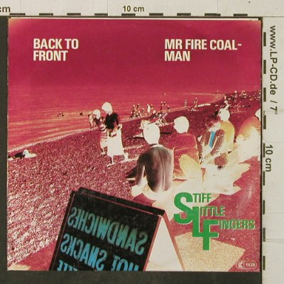 Stiff Little Fingers: Back to Front, Chrysalis(102 220-100), D, 1980 - 7inch - T4014 - 9,00 Euro