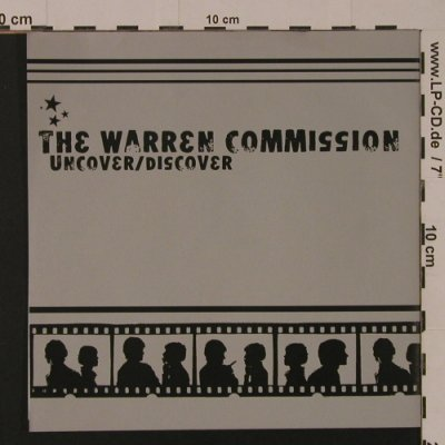 Warren Commission,The: Uncover/Discover, 3 Tr., Solution Records(#3), US, 2000 - EP - T4449 - 4,00 Euro