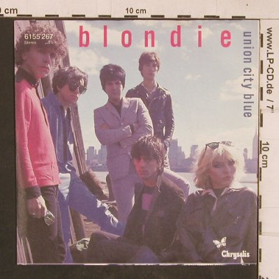 Blondie: Union City Blue/In the Real World, Chrysalis(6155 267), D, 1979 - 7inch - T4618 - 3,00 Euro