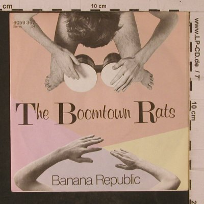 Boomtown Rats: Banana Republic / Man At The Top, Mercury(6059 367), D, 1980 - 7inch - T4685 - 3,00 Euro