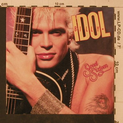 Idol,Billy: Sweet Sixteen, Chrysalis(109 100), D, 1987 - 7inch - T4743 - 2,50 Euro