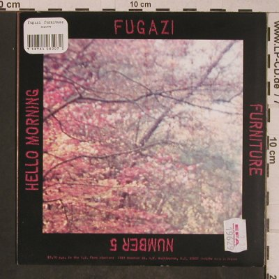 Fugazi: Furniture, clear vinyl (new), Dischord(DIS129V), F, 2001 - 7inch - T5238 - 7,50 Euro