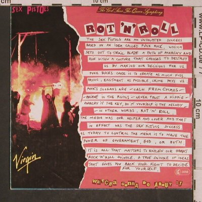 Sex Pistols: C'Mon Everybody +2, Virgin(100 791-100), D, 1979 - EP - T5299 - 20,00 Euro