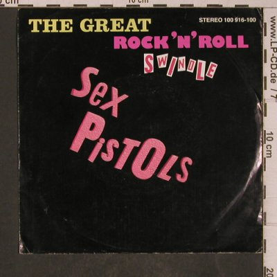 Sex Pistols: The Great Rock'n'Roll Swindel, Virgin(100 916-100), D, m-/vg+, 1979 - 7inch - T5302 - 93,00 Euro