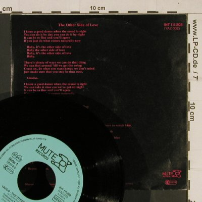 Yazoo: The Other Side Of Love / Ode To Boy, Mute(INT 111.808), D, 1982 - 7inch - T631 - 2,50 Euro