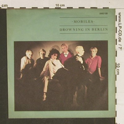 Mobiles: Drowning in Berlin, m-/vg+, Rialto(2002 120), D, 1981 - 7inch - T680 - 3,00 Euro