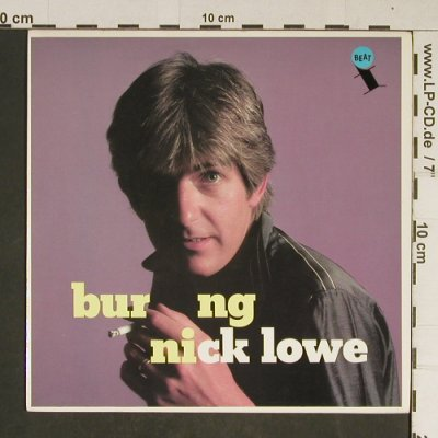 Lowe,Nick: Burning / Zulu Kiss, f-Beat(XX20), UK, 1982 - 7inch - T749 - 4,00 Euro