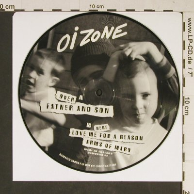 Oi Zone: Father and Son+2, PicDisc no cover, Damgood(99), UK,  - EP - T830 - 5,00 Euro