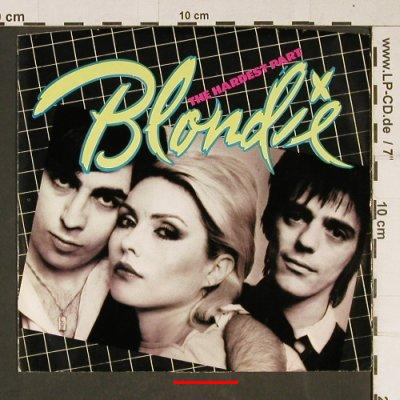 Blondie: The Hardest Part, m /vg+, Chrysalis(CHS 2408), US, 1979 - 7inch - T972 - 2,50 Euro