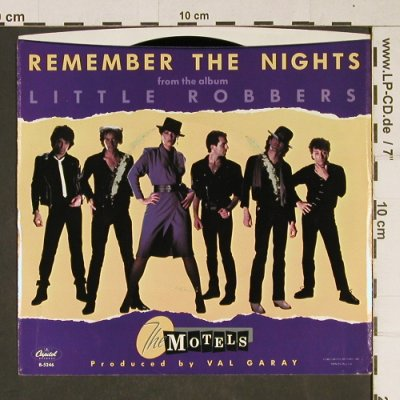 Motels: Remember the Nights + Killing Time, Capitol(B-5246), US, m-/vg+, 1983 - 7inch - T975 - 2,00 Euro