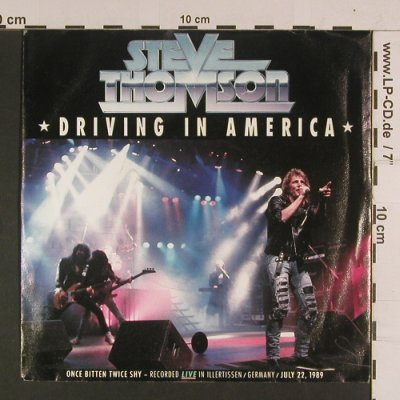 Thomson,Steve: Driving in America, Phonogram(874 540-7), D, 1989 - 7inch - S8015 - 3,00 Euro
