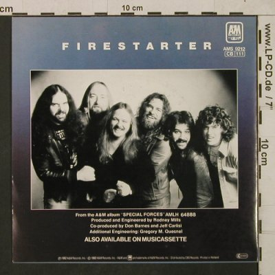 38 Special: Caught up in you / Firestarter, AM(AMS 9212), NL, 1982 - 7inch - T1866 - 5,00 Euro