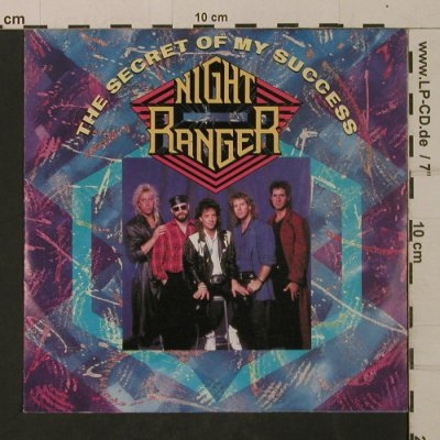 Night Ranger: The Secret of my Success, MCA(258 380-7), D, 1987 - 7inch - T2025 - 2,50 Euro
