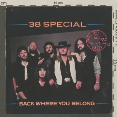 38 Special: Back WhereYouBelong/UndercoverLover, AM(AM-2615), US,m-/vg+, 1983 - 7inch - T2330 - 2,50 Euro