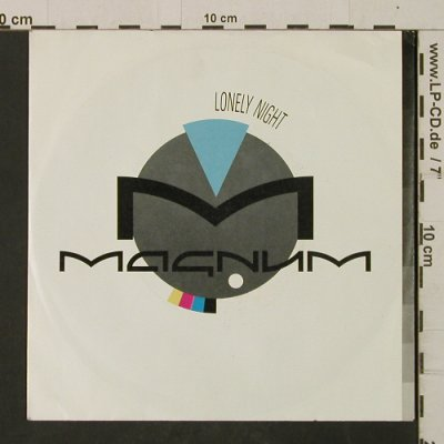 Magnum: Lonely Night / Les Morts Dansant, Polydor(885 017-7), D, 1986 - 7inch - T2510 - 3,00 Euro