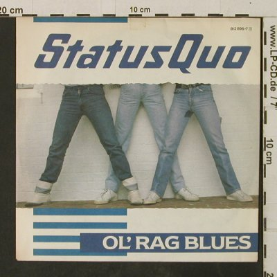 Status Quo: Ol' Rag Blues / Stay The Night, Vertigo(812 896-7), D, 1983 - 7inch - T3025 - 3,00 Euro