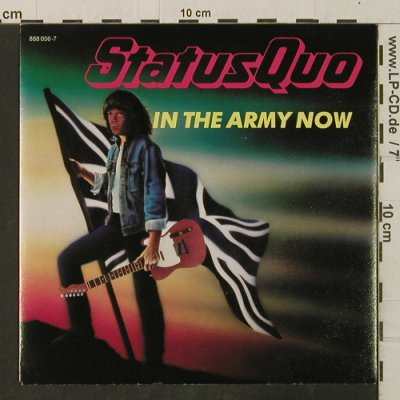 Status Quo: In The Army Now / Heartburn, Vertigo(888 056-7), D, 1986 - 7inch - T3424 - 3,00 Euro