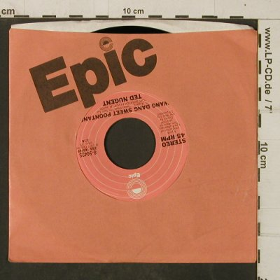 Nugend,Ted: Cat Scratch Fever/Wang Dang Sweet.., Epic/Promo Stol(8-50425), US,m-/FLC, 1977 - 7inch - T4041 - 4,00 Euro