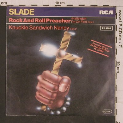 Slade: Rock And Roll Preacher, RCA(PB 5466), D, 1981 - 7inch - T5320 - 7,50 Euro