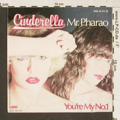 Cinderella: Mr.Pharao, WEA(18 183), D, 1980 - 7inch - T64 - 2,50 Euro