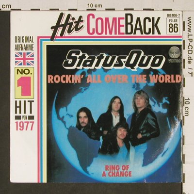 Status Quo: Rockin' all over the World,Folge86, Vertigo(888 966-7), D,Ri, 1977 - 7inch - T857 - 2,50 Euro
