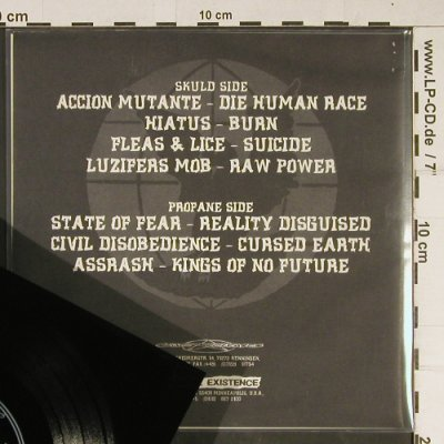 V.A.The Human Race: Accion Mutante....Assrash, Flexi EP, Profane Existence(Flexi 001), US, 33rpm,  - EP - T915 - 4,00 Euro