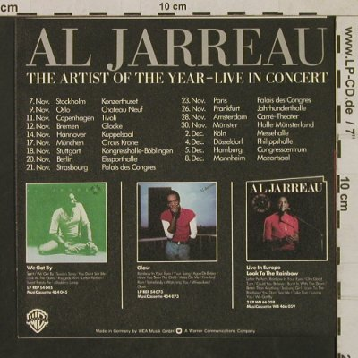 Jarreau,Al: Take Five / We Got By, Facts, WB(WB 17 040), D, 1977 - 7inch - T1736 - 5,00 Euro