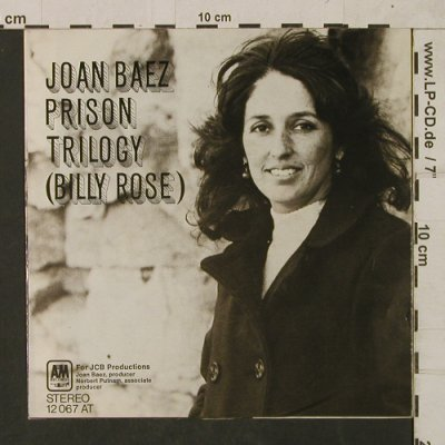 Baez,Joan: Prison Trilogy(Billy Rose), m-/vg+, AM(12 067 AT), D,  - 7inch - T1760 - 3,00 Euro