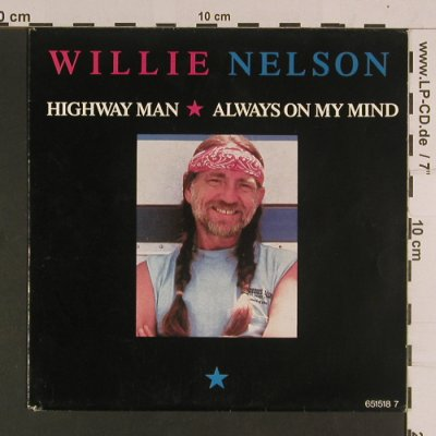 Nelson,Willie: Highway Man / Always on my mind, CBS(651518 7), NL, 1988 - 7inch - S8065 - 3,00 Euro