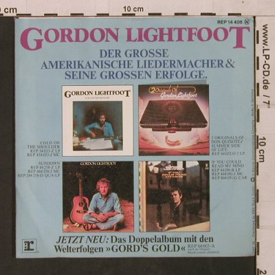 Lightfoot,Gordon: Carefree Highway/Cotton Jenny, Reprise(REP 14 406), D, 1975 - 7inch - T1577 - 3,00 Euro