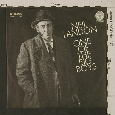 Landon,Neil: One of the Big Boys/Who's Pretty..., Vertigo(6005 206), D, 1982 - 7inch - T1753 - 3,00 Euro