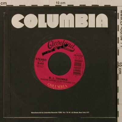 Thomas,B.J.: WhateverHappened ToOldFashionedLove, Columbia,Promo-Stol(38-03492), US, FLC, 1983 - 7inch - T2169 - 3,00 Euro