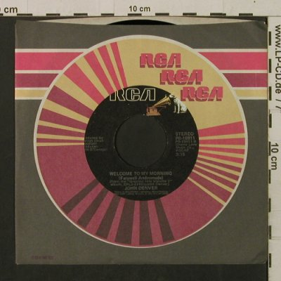 Denver,John: My Sweet Lady/Welcome To My Morning, RCA/Promo-stol(PB-10911), US, FLC, 1976 - 7inch - T2219 - 2,50 Euro