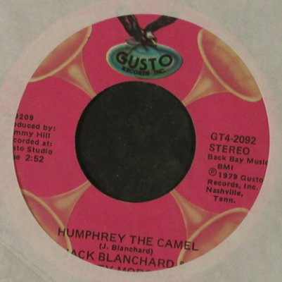 Blanchard,Jack & Morgan,Misty: Tennesse Bird Walk/HumphreyTheCamel, Gusto, LC(GT4-2092), US, 1979 - 7inch - T2919 - 3,00 Euro