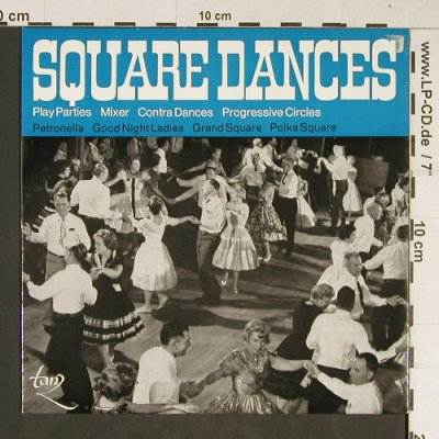 Page's,Ralph - Boston Boys: Square Dances, Tanz/Walter Kögler(58 702), D,  - EP - T785 - 4,00 Euro