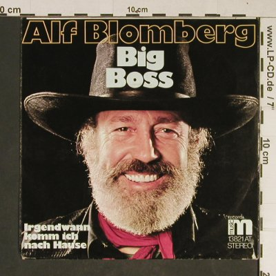 Blomberg,Alf: Big Boss, Music Rec(13831 AT), D,  - 7inch - T836 - 2,50 Euro