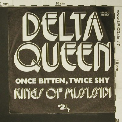 Kings Of Mississipi: Delta Queen, m-/vg+, Barclay(MB 28077), D, 1972 - 7inch - S7354 - 1,50 Euro