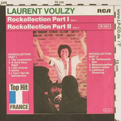 Voulzy,Laurent: Rockollection Part 1 & 2, RCA(PB 8067), D, 1977 - 7inch - T127 - 4,00 Euro
