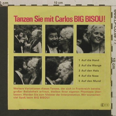 Carlos: Big Bisou (Part 1 + 2), Ariola(11 625 AT), D, 1977 - 7inch - T2410 - 3,00 Euro