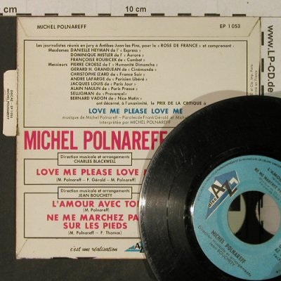 Polnareff,Michel: Love Me Please Love Me, vg-/vg+, DISC AZ(EP 1053), F,  - EP - T3877 - 5,00 Euro