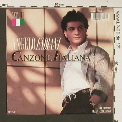 Fabiani,Angelo: Canzone Italina, EMI(1C 006-147356 7), D, Facts, 1988 - 7inch - S9090 - 2,50 Euro