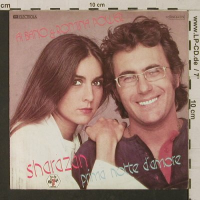 Bano,Al & Romina Power: Sharazan/Prima Notte D'Amore, Baby(006-64 579), D, 1981 - 7inch - T1292 - 2,50 Euro