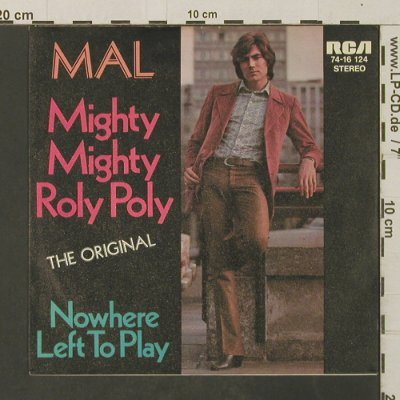 Mal: Mighty Mighty Roly Poly, RCA(74-16 124), D,  - 7inch - T3038 - 2,00 Euro