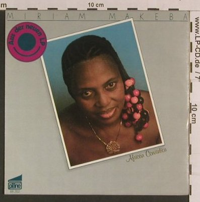 Makeba,Miriam: African Convention / Chicken, Pläne(88 202), D, 1980 - 7inch - S8119 - 3,00 Euro