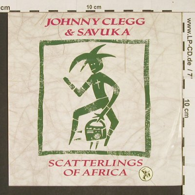 Clegg,Johnny & Savuka: Scatterlings Of America, EMI(20 1663 7), D, 1987 - 7inch - T296 - 2,50 Euro