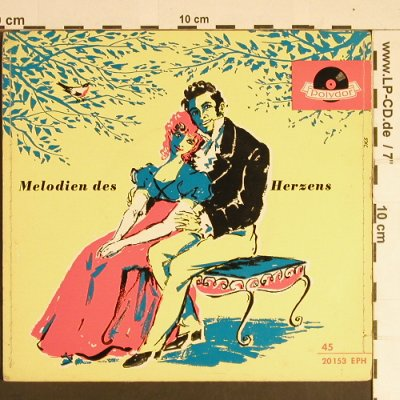 Streich,Rita - Peter Anders: Melodien des Herzens, Polydor(20 153 EPH), D, 1955 - EP - S8450 - 3,00 Euro